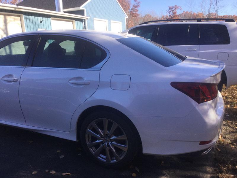 White Lexus After