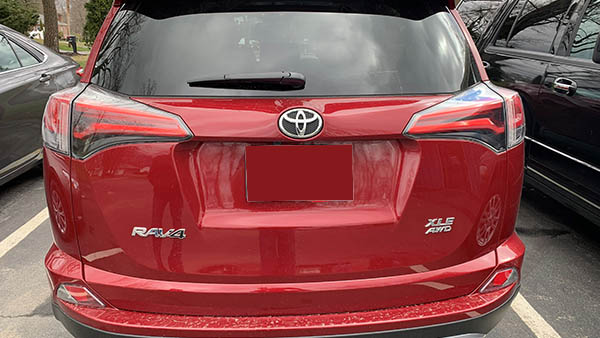 Gallery 0023 Red Rav 4 After Precision Auto